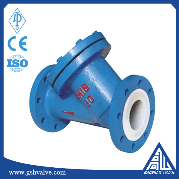 PTFE Lined Y Strainer